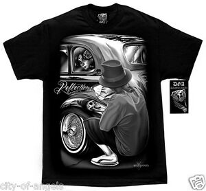 Authentic-David-Gonzales-DGA-Reflections-Lowrider-Bomb-HOMIES-West-Coast-T-Shirt