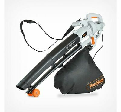 Powerful 3000W Leaf Blower 3 In 1 Garden Tool With 35L Collection Capacity
