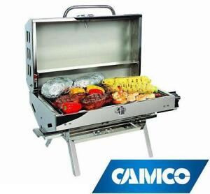 NEW Camco Olympian 5500 Stainless Steel Portable Grill
