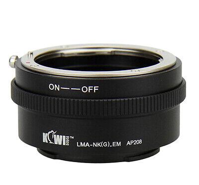 KIWI FOTOS Nik (G) -nex Adaptador Nikon G Objetivo Para sony Nex...