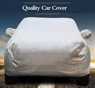 Outdoor Car Cover Protector Scratch Dust Sun Heat Rain Snow WaterProof Resistant