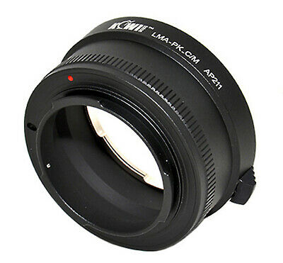 KIWI FOTOS Pk-Eosm Adaptador Pentax Pk Objetivo Para Canon EOS M Cámara...