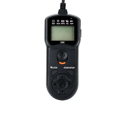 JJC Timer Remote Control for Nikon D7200/D5600/D610/D750/Df/D7100/Z6/Z7 (MC-DC2)