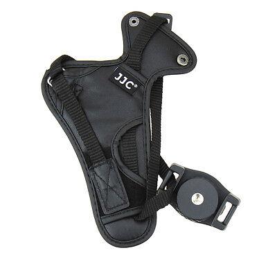 JJC HS-N DSLR Kamera Handschlaufe in Echtleder Schwarz