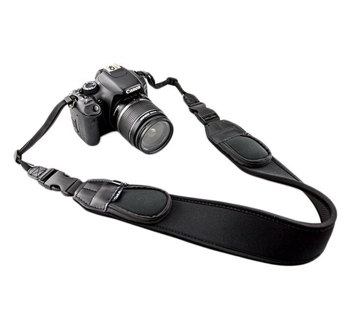 JJC Neoprene Neck Strap NS-Q2 With Quick Release Clip