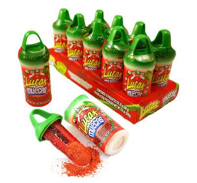 Lucas Muecas Watermelon Sandia Lollipop Chili Powder 10 Count Mexican - Mexican Chili Powder