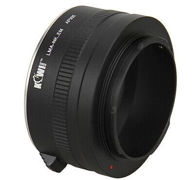 KIWI FOTOS Nik (F) -nex Adaptador Nikon F Objetivo Para sony Nex...