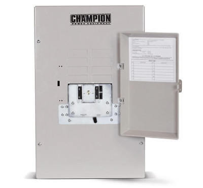 Champion 50amp Nema1 Transfer Switch-factory Reconditioned 100947-r