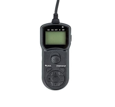 JJC TM-B Timer Remote Shutter Cord for Nikon D800 D810a D700 D500 D300 D5 D4 D3s