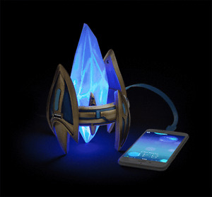 Starcraft Protoss Pylon Desktop Power Station, Blizzcon, NEW!