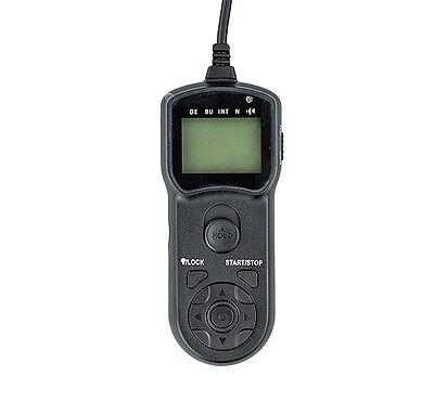 JJC LCD Timer Remote Control for Nikon D5 D4 D850 D810 D800 D700 D500 D300 MC-30
