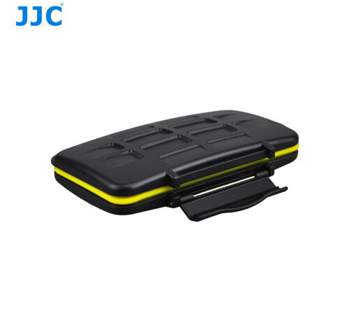 JJC MC-SDMSD24 Water-Resistant Memory Card Case for 12 SD + 12Micro SD Cards