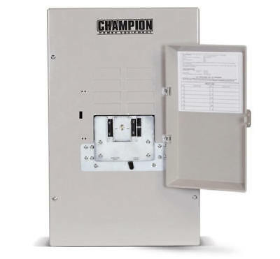 Champion 50amp 3r Transfer Switch-factory Reconditioned 100950-r