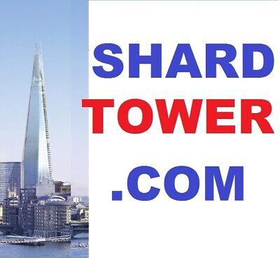 The Famous Domain Shard Tower .com London Shop Office Hotel...website Investment