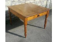 Rustic Antique dining table (free local delivery)