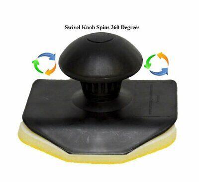 Hand Held Swivel Knob Tire Dressing Applicator - Designed for the Best