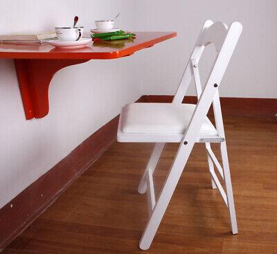 SoBuy® Sillla plegable,sillla de madera,silla de cocina,blanco,FST06-W,ES