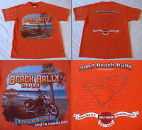 HARLEY DAVIDSON BEACH RALLY 2002 T- Shirt (M)