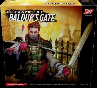 Betrayal At Baldurs Gate  With Promo Cards Pack   Board Game  New