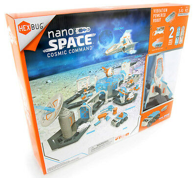 Space Commander (Hexbug Nano Space Cosmic Command Set 417-5400 Mini Krabbel Roboter Käfer)