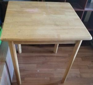 "*Best Offer* 29"" Wooden Square End Table"