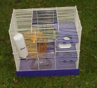 Hamster Cage - also suits Dwarf Hamsters, Gerbil