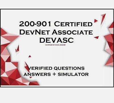 200-901 Certified DevNet Associate DEVASC practice exam QA & Simulator JULYUPDAT