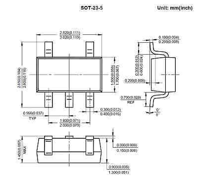 5pcs Ap3012ktr Sot-23-5 Smd 1.5mhz 500ma 0.5a Boost Convert Ic Us Seller