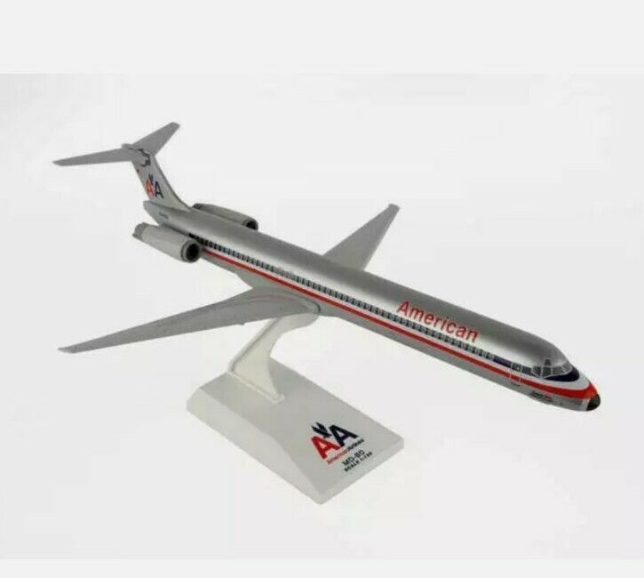 """Airplane American Airlines MD-80 Old Livery 11.4/5""""  Model Aircraft"""