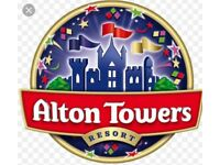 Alton Towers Tickets x 2 - 12th June 2018