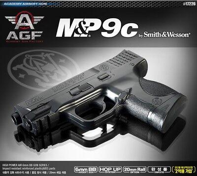 ACADEMY M&P 9c  Airsoft Pistol BB Gun 6mm Hand Grips Toy
