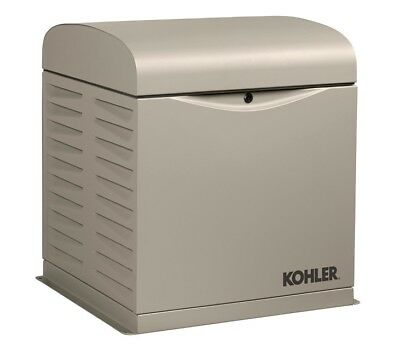 Kohler 12kw Stationary Back-up Power Generator Lp Vapor Or Natural Gas 12resv