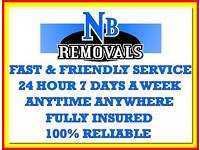 RELIABLE CHEAP REMOVAL MAN AND VAN 24/7 HIRE COURIER SERVICE HOUSE HOME FLAT OFFICE BED SOFA MOVE