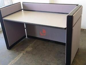 Call Center Cubicle Workstation