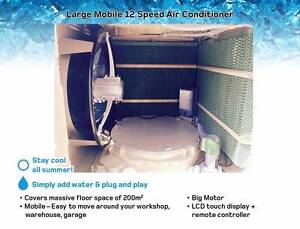 Large Mobile Evaporative Air cooler - Air Con - 12 Speed - 200m2 Kewdale Belmont Area Preview