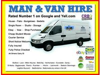 BEDFORDSHIRE MAN AND VAN HIRE CHEAP REMOVALS SERVICE HOUSE FLAT OFFICE COURIER EBAY MOVE BUSINESS
