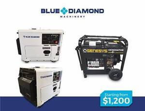 Silenced Portable Diesel Generator -6KVA – 240V & 415V - NEW Kewdale Belmont Area Preview