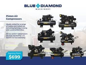 Air Compressor - Piston 18-42CFM 160 Lt Diesel / Petrol /Electric Gordon Ku-ring-gai Area Preview