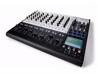 Korg Zero8. Digital mixer, 16 in/out audio interface + kaos pad. Logic/pro-tools