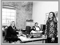 ●(Woolwich-SE18) Modern & Flexible - Serviced Office Space London!