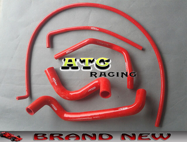 RED/BLUE Silicone Radiator Hose For HOLDEN COMMODORE VZ V8 5.7L