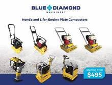 Plate Compactors-Honda & Lifan - 68kg,77,100kg,168k &195kg Paving Kewdale Belmont Area Preview