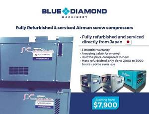 Airman Diesel  Screw Compressors - 70 -390 CFM -Fully Refurbished Gordon Ku-ring-gai Area Preview