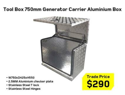 Aluminium 2.5mm Tool Boxes – 1210mm, 1400mm 1500mm,1700mm &1770m Kewdale Belmont Area Preview