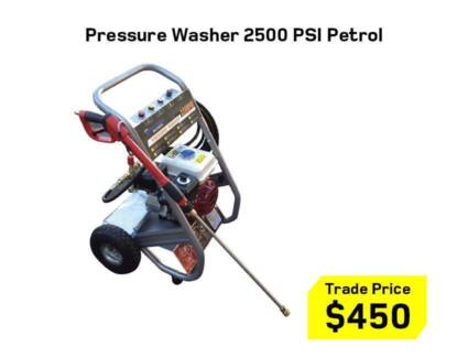 High Pressure Washer 3600 PSI – Petrol / Diesel / Electric - NEW Kewdale Belmont Area Preview