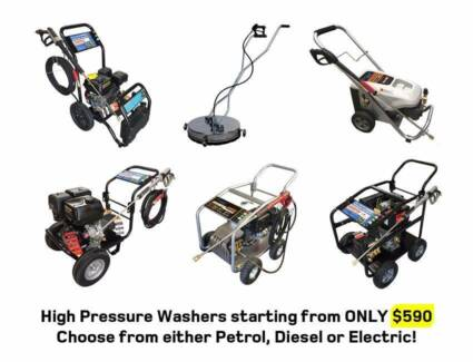 High Pressure Washer 4000 PSI – Petrol / Diesel / Electric - NEW Kewdale Belmont Area Preview