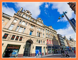 * (Glasgow-G1) Modern & Flexible Serviced Office Space For Rent-Let!
