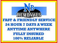 BEDFORD Based Fully Insured Man and Van Hire House Flat Removal Courier Service Office Business bed