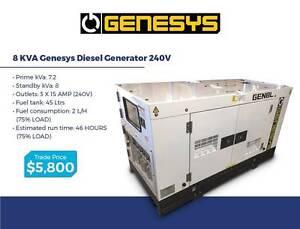 Large Diesel Generators - 8-50KVA - KUBOTA/ ISUZU / FAW / PERKINS Gordon Ku-ring-gai Area Preview