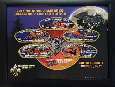 2017 Boy Scout Jamboree Suffolk County Council JSP Limited Edition Patch Set Lot